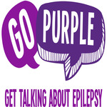 Go Purple logo